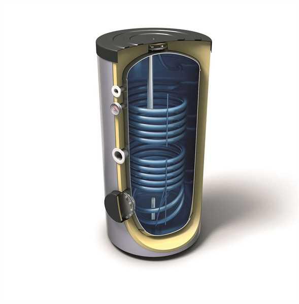 TRR300 Brauchwasserspeicher mit 2 Wärmetauscher 300 Liter