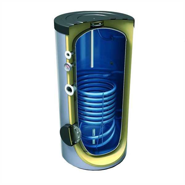 TR160 Brauchwasserspeicher mit 1 Wärmetauscher 160 Liter