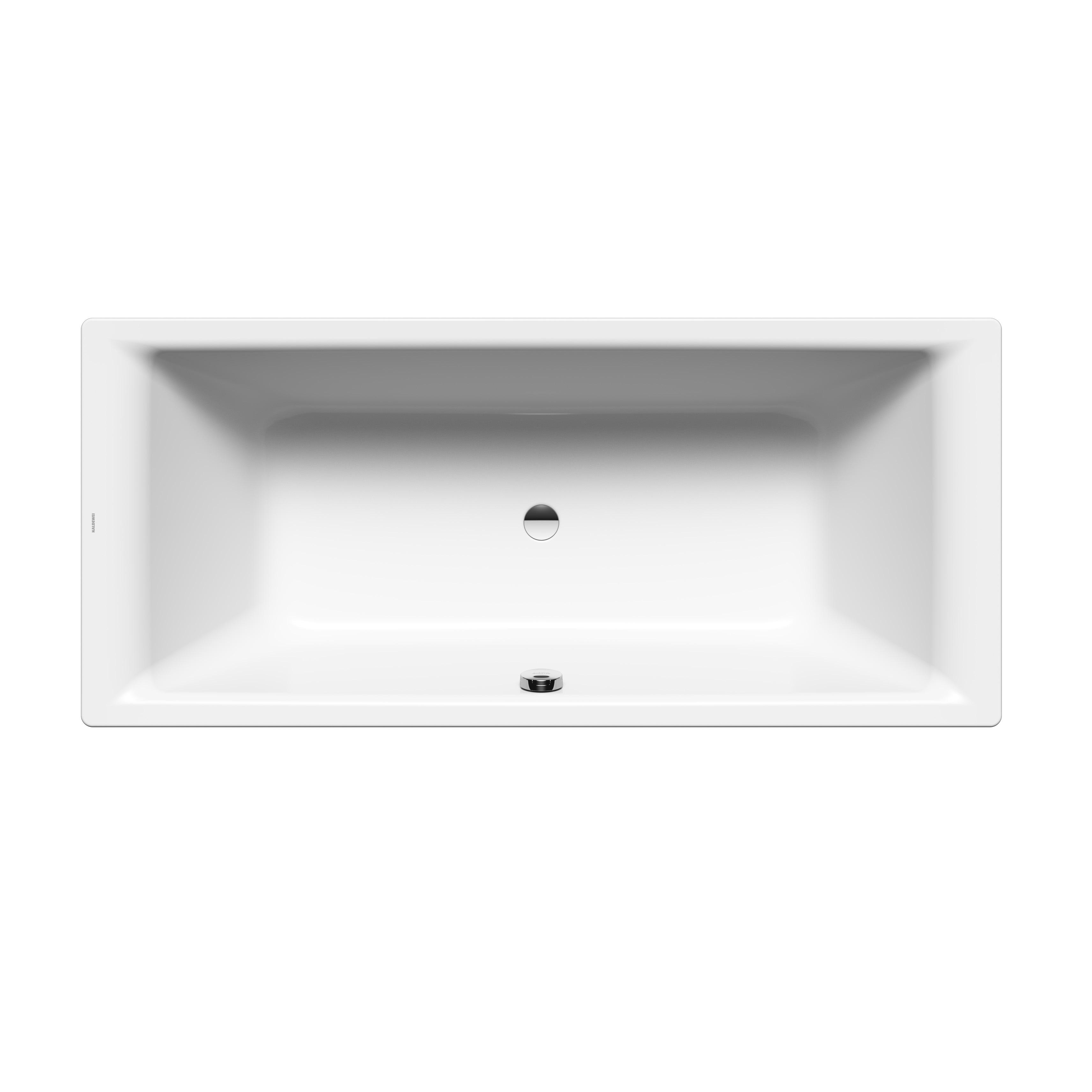 Stahl Badewanne Puro Duo 20 x 20 cm weiß