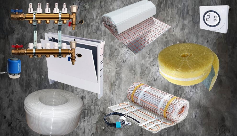 Zeige mir Fußbodenheizungen: Fußbodenheizung bestellen bei SanHe. Der Fußbodenheizung Online Shop.